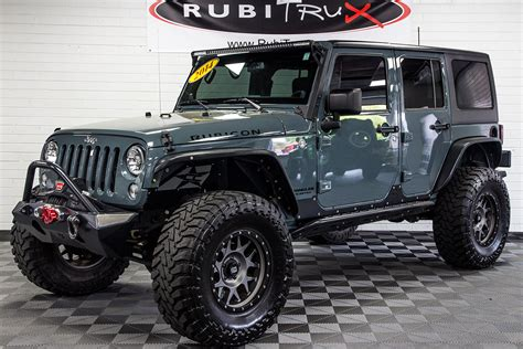 anvil jeep pre owned 2014 jeep wrangler rubicon unlimited anvil