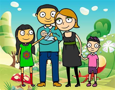 imagenes en movimiento de una familia imagenes de familias en dibujos animados bonitas