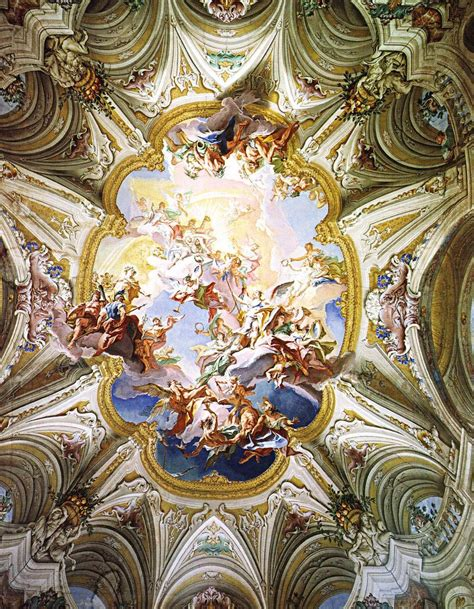 fresco baroque carlo innocenzo carlone triumph of reason 1745 1747
