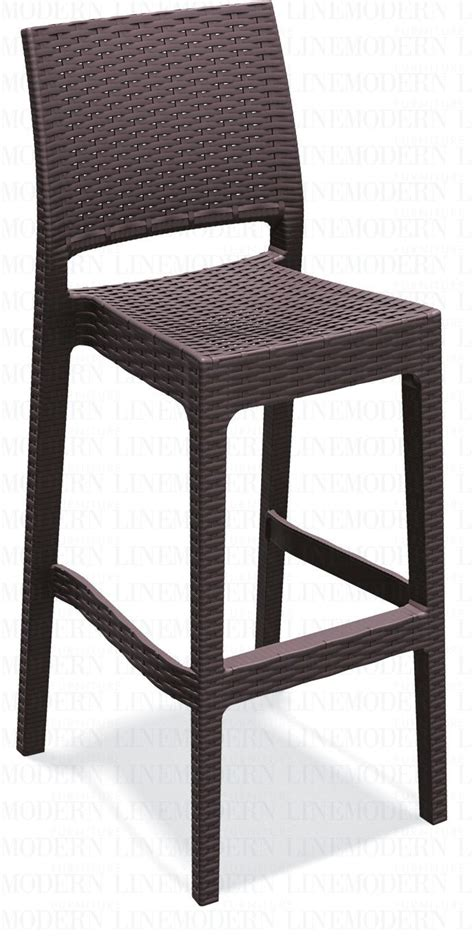 Resin Outdoor Bar Stools by Modern Line Furniture Commercial Furniture Custom Made