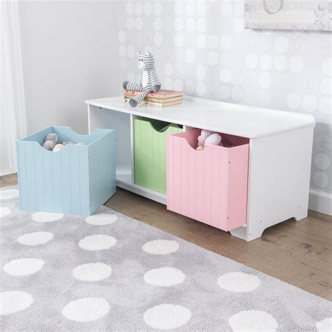 kidkraft nantucket storage bench pastel 14565 kidkraft nantucket storage bench pastel 28 images