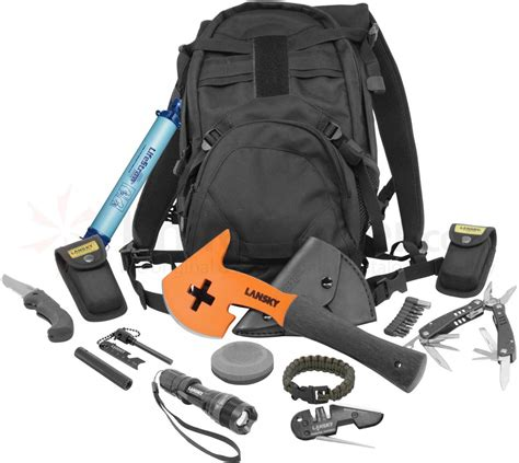 Survival Kit Outdoor Tactical Multi Tools B9 lansky t a s k tactical apocalypse survival kit