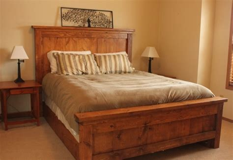 homemade bed frames diy solid wood bed frame http ana white com 2012 01 our