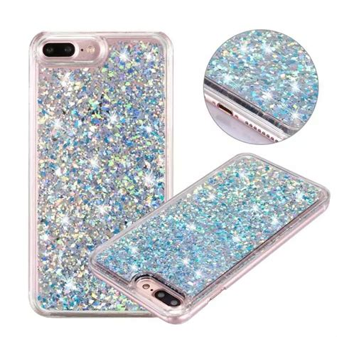 Hardcase Gliter Metalik Iphone 66s 1 for iphone 6 clear liquid bling glitter sand clear pc for iphone 7