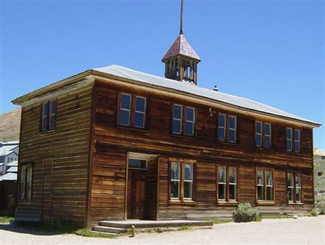 School House by File School House In Bodie California Jpeg Wikimedia