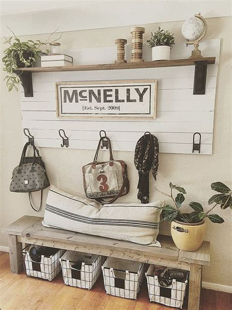 Front Entrance Bench With Hooks 17 Best Ideas About Entryway Bench On Entry