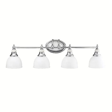 4 bulb bathroom light fixtures kichler 5370ch chrome pocelona 33 quot wide 4 bulb bathroom
