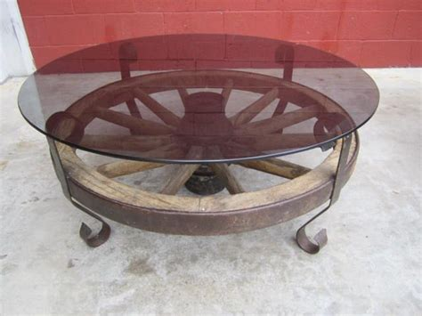 wagon wheel coffee table pin by nieddu on for the home