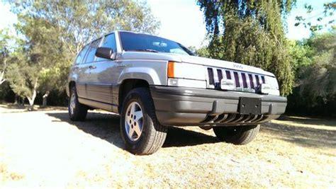1994 Jeep Grand Mpg Buy Used 1994 Jeep Grand Laredo V 8 4x4 Low