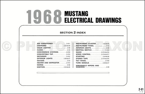 1968 mustang coil wiring diagram wiring diagram with