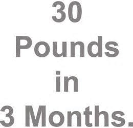 Banks Loses 30 Pounds In Five Months by Losing 30 Pounds In 3 Months Master Diet Advice