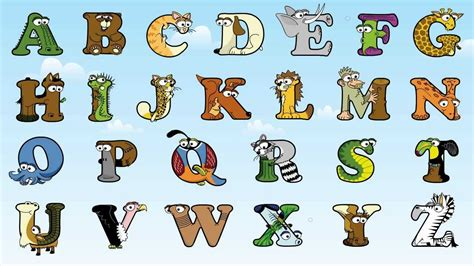 printable animal shaped letters the animal alphabet abc song by the alphabetimals youtube