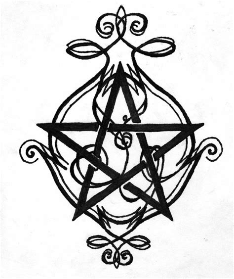 pentacle tattoo designs pentagram design by nymphera on deviantart bits
