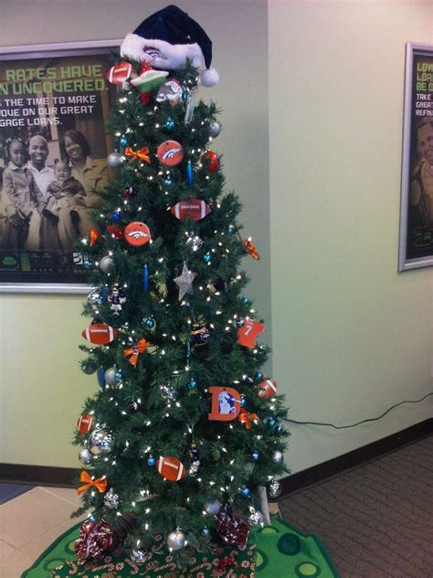 broncos christmas tree decorations dtc branch denver