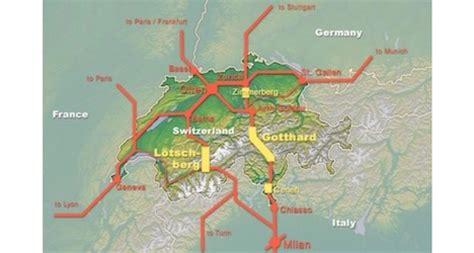 gotthard base tunnel set to open in two years the local