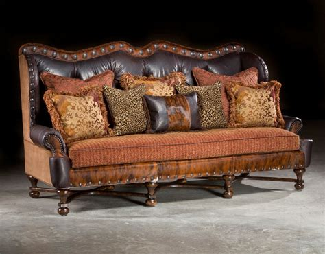 rustic leather sofa and loveseat western sofa rustic sofa hacienda sofa large sofa anteks