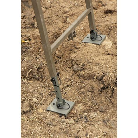 ameristep ladder tree stand leveler kit 96512 tree