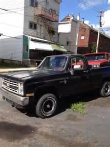 buy used 1986 chevy k10 4x4 bed v8 auto in mahanoy