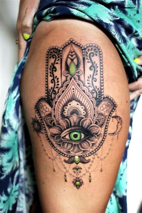cute thigh tattoos leg tattoos for fitfru style