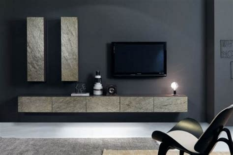 Grey Living Room Wall Units Led Cabinet Furniture Living Room With Front
