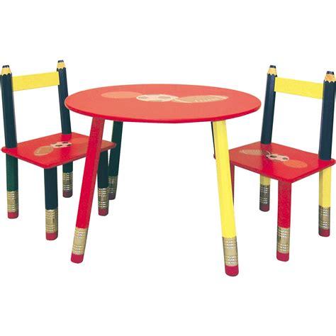 crayola activity table and chair set crayola creativity wooden table and chair set chairs