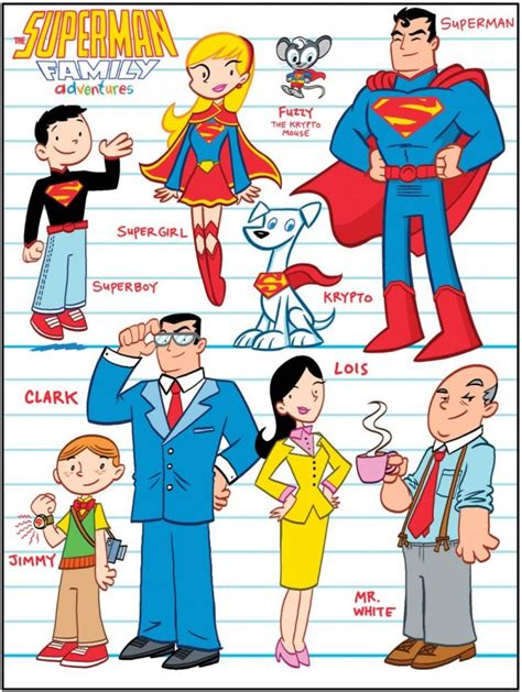 Family 01 Superman secret identity comics october 2012