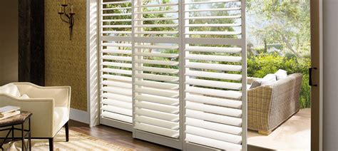 Plantation Shutters Palmetto Window Fashions Shutters Bypass Shutters For Patio Doors