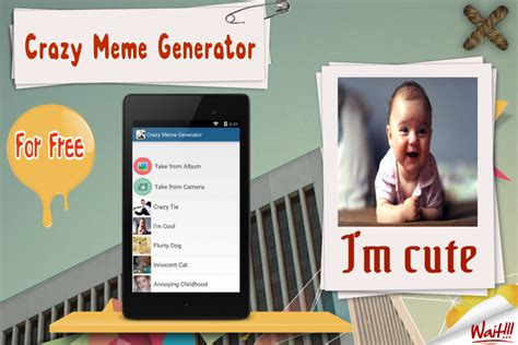 Meme Maker Free - meme generator free app download apk for android aptoide