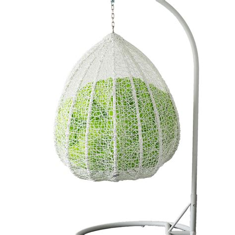 Hanging Egg Chair Outdoor by Outdoor Wicker Hanging Egg Chair In White Buy Rattan