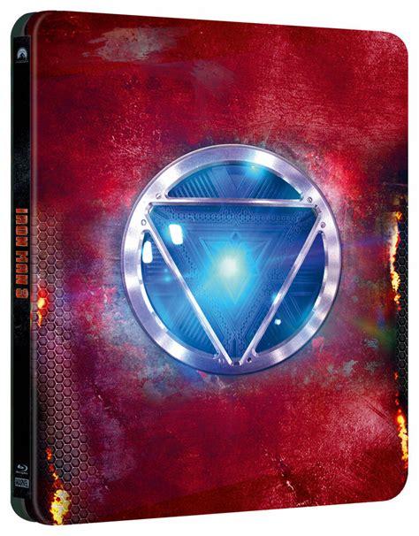 iron man blu ray steelbook collectors edition
