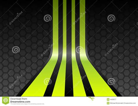 Pu103001010 Form Neon Green lime green stripes stock vector illustration of form 4429277