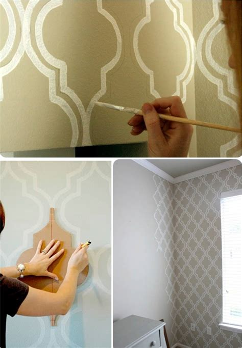 paint patterns for walls diy wall art painting ideas diy make it