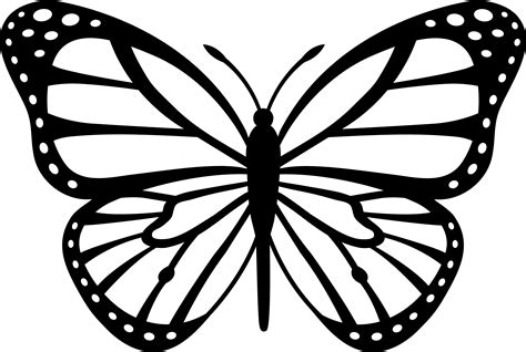 Monarch Butterfly Coloring Page butterflies coloring pages free coloring pages of monarch