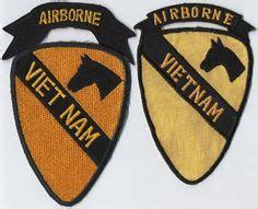 airborne ljmilitariacom usa vietnam 1st cavalry division airborne patch subdued