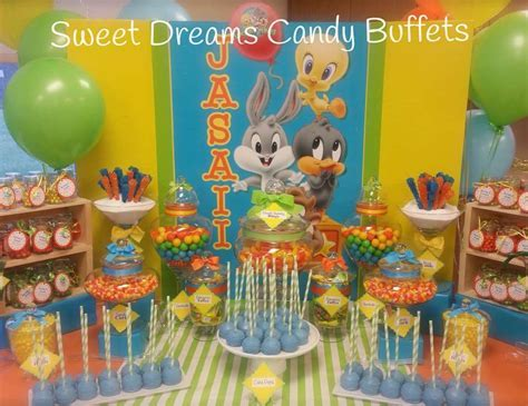 "Baby Looney Tunes / Baby Shower ""Baby Looney Tunes baby shower""   Catch My Party"