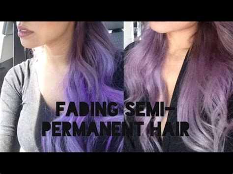 does permanent hair color fade how to fade semi permanent hair dye without damage