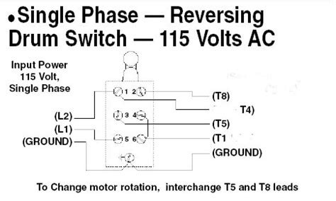 reversing motors with a drum switch readingrat net