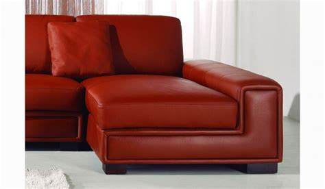 cheap red leather sofa tassonne red leather corner sofa contemporary style
