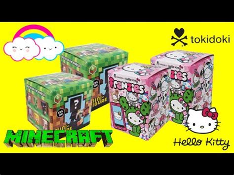Murah Meriah Hello Mini Figur tokidoki x hello frenzies minecraft mini figures series 1 mystery boxes blind bags opening
