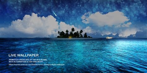 live wallpaper for pc tablet android live wallpaper tablet island in the sea by atonik