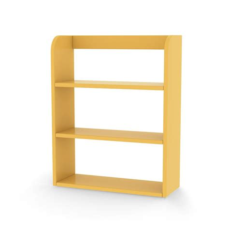 etagere jaune etag 232 res de rangement jaune flexa play mobilier smallable