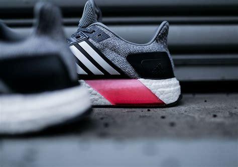 Sepatu Adidas Ultra Boost Pink Termurah Casual adidas ultra boost st grey navy pink sneakernews