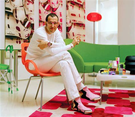famous interior designers karim rashid design projects
