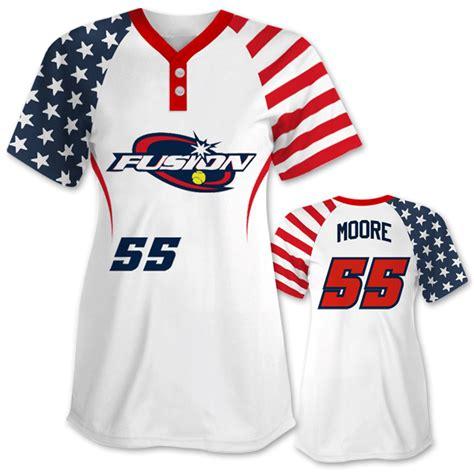speacial price design your own baseball jerseys full popular patriotic softball jersey design your own team