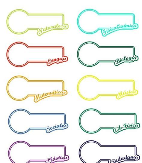 imagenes para etiquetas escolares gratis etiquetas para libros y libretas dibujos dibujos