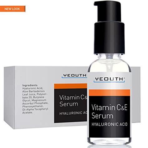 Serum Vitamin C Malaysia yeouth vitamin c serum for day with vitamin e and hyaluronic acid serum anti wrinkle fill
