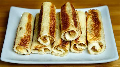 apple bread rolls manjula s kitchen indian vegetarian