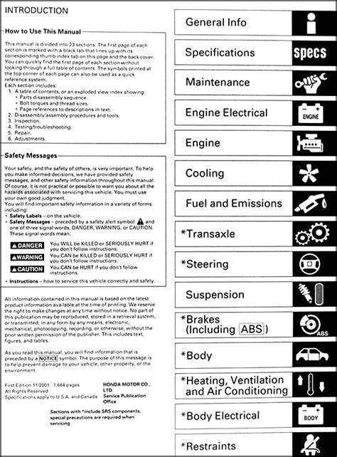 car repair manual download 2001 acura rl user handbook 2001 acura mdx owners manual 2001 oem acura mdx service shop repair manual book engine