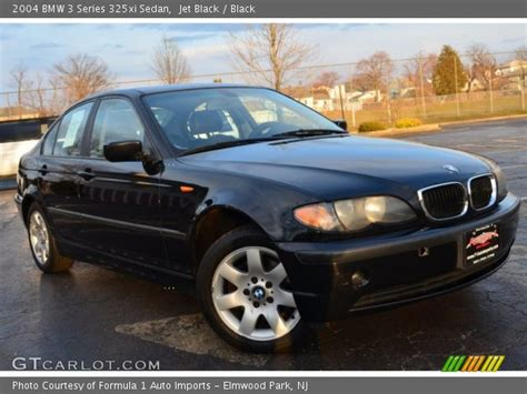 2004 bmw 325xi jet black 2004 bmw 3 series 325xi sedan black interior
