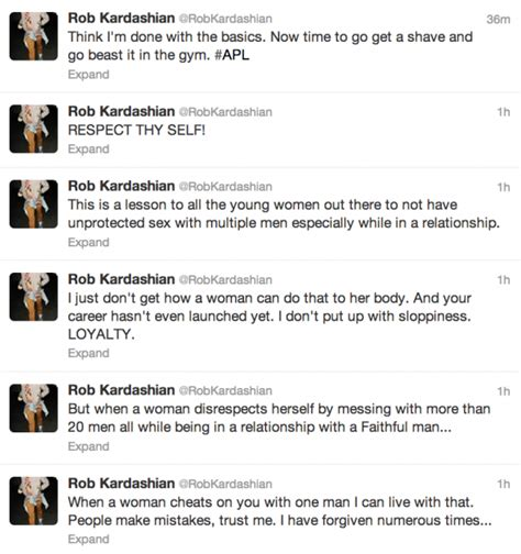 rob kardashian fires new set of tweets airs out rita ora